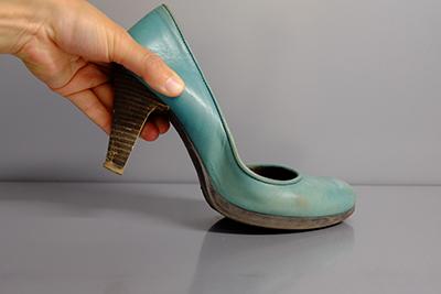 Het compenseren van de afwikkeling van de voet